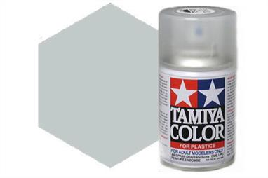 Tamiya TS81 British Navy Grey Synthetic Lacquer Spray Paint 100ml TS-81These cans of spray paint are extremely useful for painting large surfaces, the paint is a synthetic lacquer that cures in a short period of time. Each can contains 100ml of paint, which is enough to fully cover 2 or 3, 1/24 scale sized car bodies.