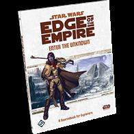 Enter the Unknown, a supplement for the Star Wars®: Edge of the Empire™ Roleplaying Game, features new content for the Explorer career. Explorers will find all-new specializations, talents, and signature abilities, while all players will benefit from new character, vehicle, and equipment options. Enter the Unknown also provides tools for making stronger and more diversified characters. Meanwhile, GMs can find advice on incorporating the themes of exploration, trade, and hunting into their campaigns. It's time to Enter the Unknown!