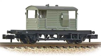 A new and detailed model of the Southern Railway standard brake van design.This model is painted in British Railways goods grey livery.