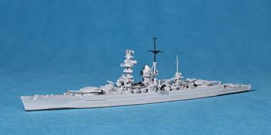 New in 2010! The former pocket battleship in her final form when based in Norway and when used for bombardment on the Eastern Front.