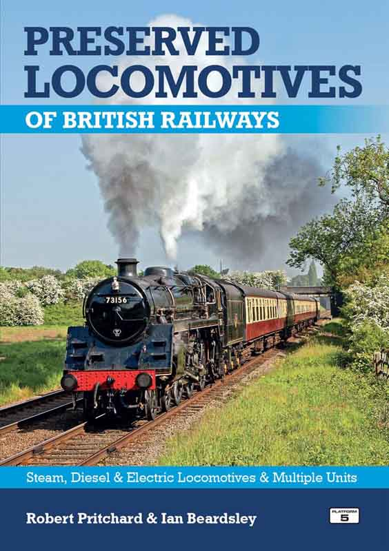 "<p>Fully revised and updated 2018.<br />The complete guide to all preserved main line steam, diesel and electric locomotives and multiple units of BR and constituents. Includes details of all steam locomotives of British Railways, the ""Big Four"" and their predecessors as well as former war department locomotives, replica and new build steam locomotives, diesel and electric locomotives, multiple units and railcars. Details include currently (2018) carried number, former numbers, names, build dates, builder and home location.<br />Illustrated with over 80 colour photographs. A5 size. 160 pages. £18.95.</p>"