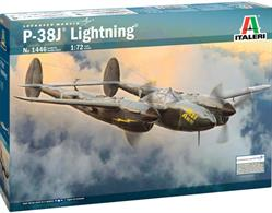 Italeri 1/48 P-38/F-5E Lightning Plastic Kit 2681Model length 240mm
