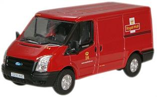 Oxford Diecast 1/76 Ford Transit Van Royal Mail Low Roof Version 76FT002