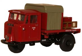 Oxford Diecast 1/76 BR Rail Mechanical Horse Rigid Fire Tender 76MH015