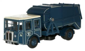 Oxford Diecast 1/76 County Borough of West Bromwich Shelvoke & Drewry Dustcart 76SD002