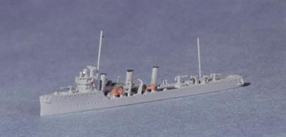 A small Italian destroyer from WW1.