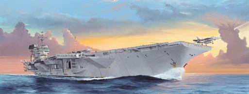 Trumpeter 1/350 USS Kitty Hawk CV-63 Carrier Kit 05619Glue and paints are required