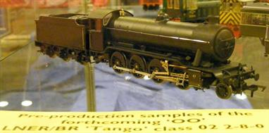 A highly detailed model of the GNR/LNER Gresley designed class O2 3-cylinder 2-8-0 heavy goods locomotives built from 1918 and serving until 1963. These engines were nicknamed 'Tangos' by their crews.