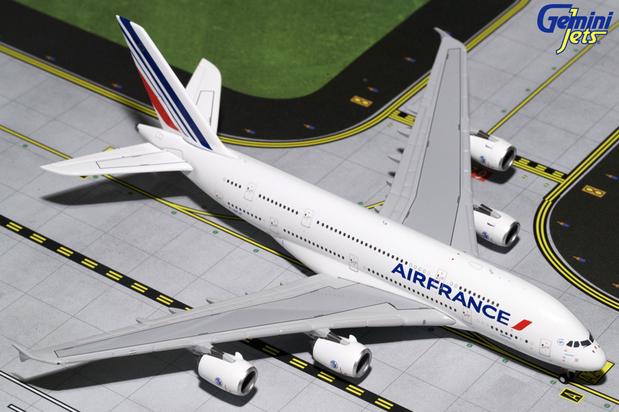 Gemini Jets 1/400 Air France Airbus A380 F-HPJJ Diecast Aircraft Model GJAFR1665