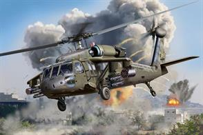 Revell 1/72 UH60 Blackhawk US Army Transport Helicopter kit 04940Glue and paints are required