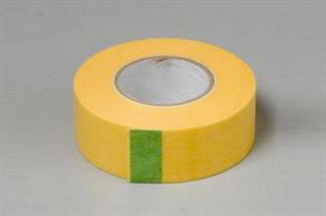 *Antics Recommended*Created specially for masking models this low-tack masking tape will provide an excellent masked line without the risk of lifting off dried paint layers.18mm width tape. 18m reel.
