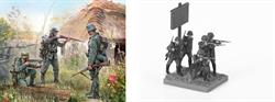 Zvezda 1/72 German Infantry Eastern Front 1941 Figure Set 6105