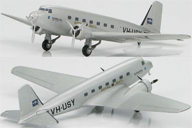 The DC-2 (Douglas Commercial 2) was developed to compete with Boeing�s 247. With the success of the DC-1, Douglas decided to build on it. The two Douglas aircraft had similar shapes but the DC-2 had more powerful engines that made it capable of longer flights at faster speeds. The DC-2 was two feet longer and could carry two more passengers. The DC- 2 was an immediate success and became the first Douglas airliner to enter service with a non-U.S. airline. Between 1934 and 1937 Douglas built 156 DC-2�s.