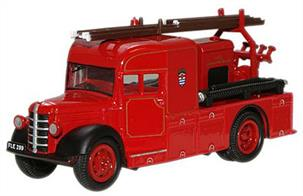Oxford Diecast 1/76 Bedford Heavy 12 London Fire Brigade 76BHF002