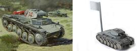 Zvezda 1/100 German Light Tank Snap Kit 6102