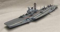 Fine resin kit of one of the Royal Navy's most successful aircraft carriers HMS Victorious. Deck aircraft include the Scimitar, Buccaneer and Phantom, covering the main aircraft operated during the carrier's life span.
