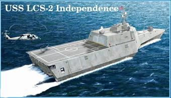 Trumpeter 1/350 USS Independence LCS-2 Modern US Warship Plastic Kit 04548Number of parts 470Model Length 371.5mmGlue and paints are required