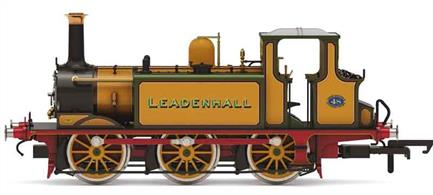 Hornbys new and highly detailed model of the LB&SCR A1 class Terrier locomotive finished in the LB&SCR golden ochre livery as number 48 Leadenhall.