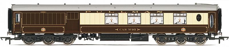 hornby pullman car 95 third class parlour brake coach 12 wheel oo r4477. Black Bedroom Furniture Sets. Home Design Ideas