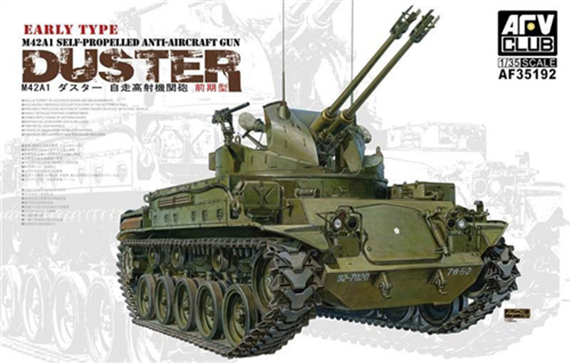 AFV 1/35 M42A1 SPG AA Duster Early Type Plastic Kit 35192