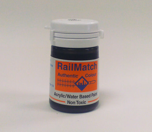 <p>New/fresh tarmac colour paint for finishing roads, tarmac surfaced platforms, etc.<br /><br />18ml water based acrylic pot.</p>