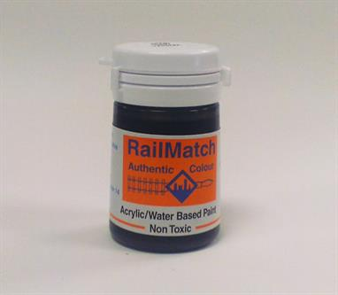 Worn/weathered tarmac colour paint for roads and well-worn tarmac platform surfaces etc.18ml water based acrylic pot.