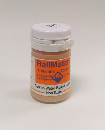 <p>New timber colour paint for structures, loads and lineside features.<br /><br />18ml water based acrylic pot.</p>