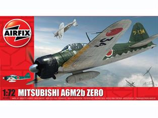 Airfix A01005 1/72nd Mitsubishi Zero Japanese WW2 Fighter Kit