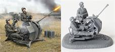 Zvezda 1/72 German WW2 2cm Flak 38 with Crew 6117.