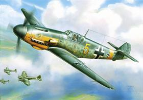 Zvezda 1/144 German Messerschmitt Bf109F2 Snap Kit 6116This kit features: 10 snap together parts an aircraft stand is included also decals for German Luftwaffe..