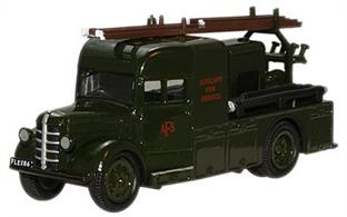 Oxford Diecast 1/76 Bedford Heavy 12 AFS Unit 76BHF003
