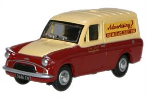 Oxford Diecast 1/76 Ford Anglia Van East Kent 76ANG040