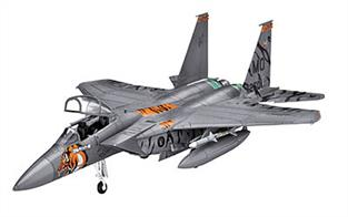 Revell 1/144 US F15E Strike Eagle Jet Kit 03996Number of parts 60Model Length 133mm, Wingspan 89mmGlue and paints are required