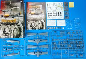 Limited edition kit of German WWII fighter Bf 109E in 1/48 scale.