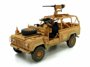 Hobbyboss 82446 1/35 Scale  Land Rover Defender Wolf WM1K - British ArmyDimensions - Length 138.2mm Width 60.9mmNumber of Parts 250+ including photo etched items. Decals and instruction sheet are included.Glue and paints are required to assemble and complete the model (not included)