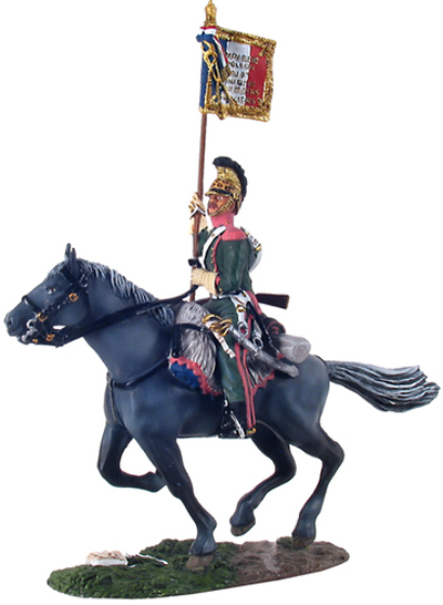 WBritain French 3rd Lancers Guidon Bearer No 1 Two Piece Set 1/30 36073