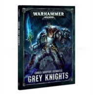 Codex: Grey Knights contains a wealth of background and rules – the definitive book for Grey Knights collectors.