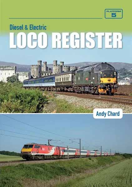 <p>Diesel and Electric Loco Register contains a complete list of all diesel and electric locomotives operated by British Railways, its' constituents and successors, that have been capable of working on the main line railway network, including shunters and departmental locomotives.</p>