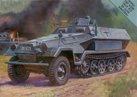 German Sd.Kfz.251 Ausf B Snap Fit Kit