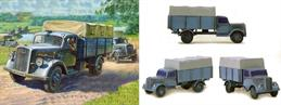 Zvezda 1/100 German WW2 Opel Blitz Truck Snap Together Kit 6126