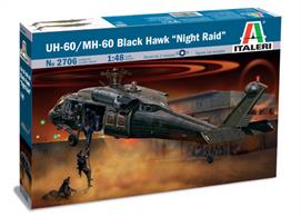 Italeri 2706 US UH-60A Black Hawk