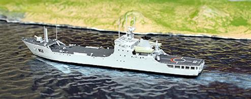 New for 2011, a Yuting II class landing ship (8 sisters).