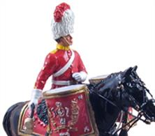 W Britain Royal Scots Dragoon Guards Mounted Kettle DrummerThe Royal Scots Dragoon Guards (Carabiniers and Greys) (SCOTS DG) is a cavalry regiment of the British Army, and the senior Scottish regiment. The regiment, through the Royal Scots Greys, is the oldest surviving Cavalry Regiment of the Line in the British Army.2 Piece SetLimited Edition of 600