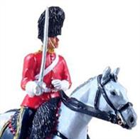 W Britain Royal Scots Dragoon Mounted TrooperThe Royal Scots Dragoon Guards (Carabiniers and Greys) (SCOTS DG) is a cavalry regiment of the British Army, and the senior Scottish regiment. The regiment, through the Royal Scots Greys, is the oldest surviving Cavalry Regiment of the Line in the British Army.2 Piece SetLimited Edition of 8001/32 (54mm) ScaleGloss Finish