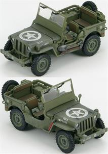 Last One Box not GoodHobby Master 1/48 US Willys Jeep 101st Airborne iv., 506th A.B. Regiment, Company `C`, Normandy, 6 June 1944 HG1601