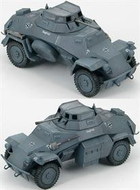 Hobby Master SdKfz 222. Leichter Panzerspahwagen (4x4) 1st Company, 3rd Recon. Battalion, 5th light Division, North Africa, March 1941