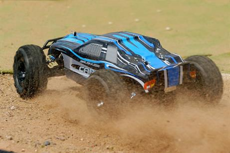 FTX 1/10 Carnage Brushless 4WD RTR Truck FTX5543Get ready for some serious off road truggy action with the Brushless Edition FTX Carnage. Taking backyard bashing to a new level, the Carnage Brushless boasts some amazing features for the ultimate Ready-to-Run experience.
