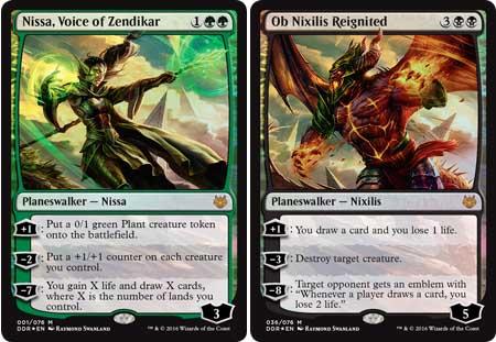 Wizards Mtg Duel Decks Nissa Vs Ob Nixilis B67740000