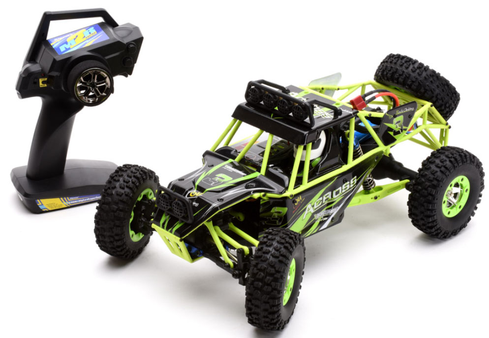 Ripmax 1/12 Across Rock Crawler RTR RC Car C-RMX27315<br><br>The Across is supplied in RTR format the hard work of assembly is already done for you. You only need to add some 'AA' batteries to the transmitter and charge the included lithium car battery to get going.