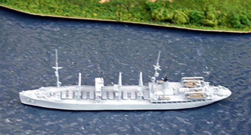Saratoga Model Shipyard SMY09 USS Nitro, ammunition carrier, AE2, 1921-41 1/1250